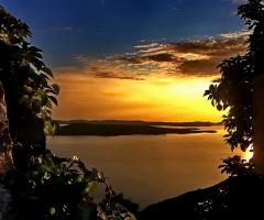 Sunset on my island