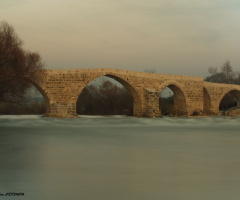 Tarihi Aspendos Köprüsü...