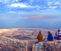 A View Of The Dead Sea ...