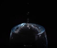 a drop ...