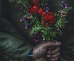 Wild Flowers Via Working Hands ..