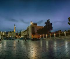 Biethlehem city, palestine