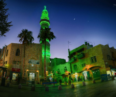 green light mosque ...