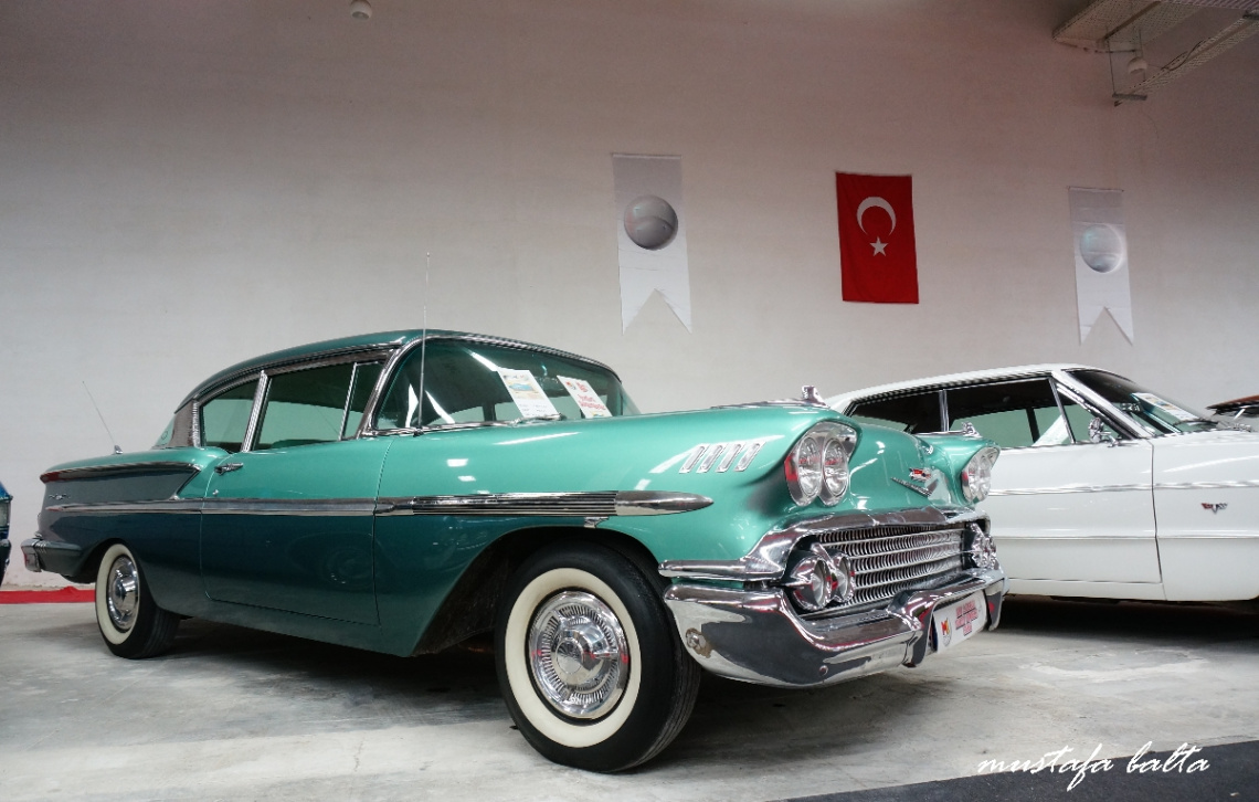 1958 Chevrolet Coupe classical car of the day
