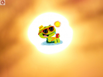 Sonne pur ...