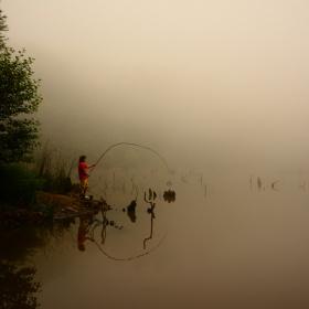 Yalova Dipsiz Göl'de Sis