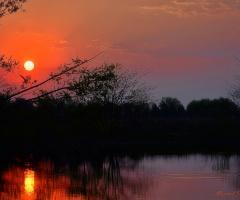 Pleasure of sunset