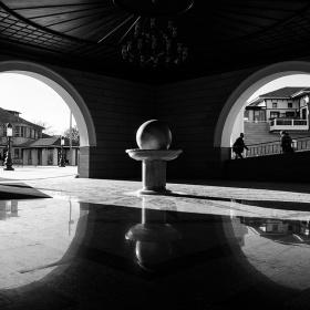 Hacıbayram meydanı.
