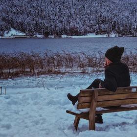 Yalnızlığın sesinden bir resim yaptım...