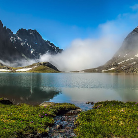 Buzul gölü.Kaçkarlar +3000 mt.