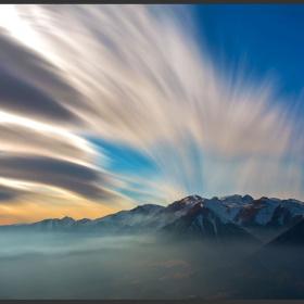Dumanlı Dağlar...