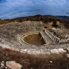 Afrodisias Antik  Tiyatro