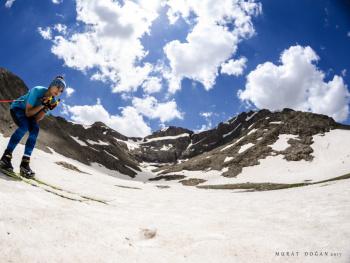 Yaz Günü Kayak Keyfi