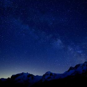 Stars on the Alps