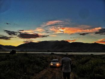 #VanLake #Sunset