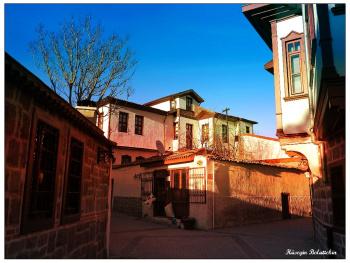 Hamamönü sokakları-Ankara