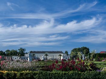 Castle Herrenhausen Hanover in the Great Garden