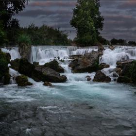 Waterfall - Berdan river.