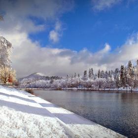 Winter, Fužine Croatia