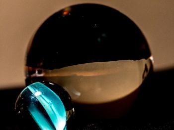 Macro Glass Spheres