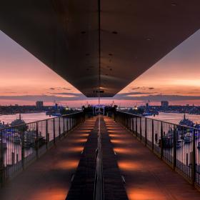 Reflection Blue Port 2017 Hamburg