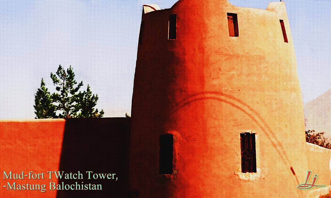 mud-fort watchtower
