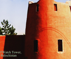 mud-fort watchtower