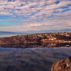 Bakar bay, Adriaric sea, Croatia