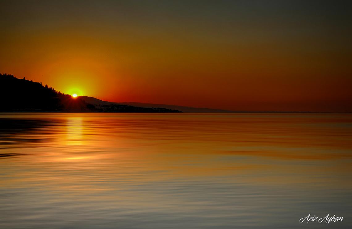 Gün Batımı Değirmen Dere Sahil / Karamürsel