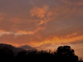 evening sky - today