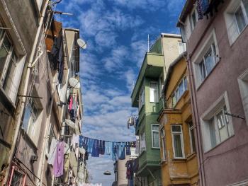 Balat sokakları..