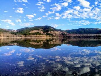 Isparta gölcük krater gölü