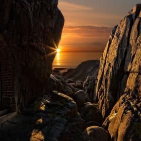 The doorway to the Rock