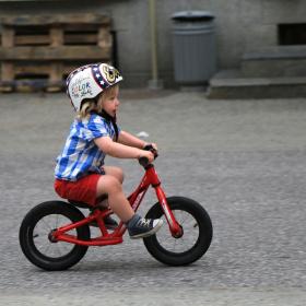 A little rider