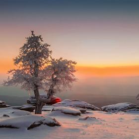 Çataldağ'da Kış