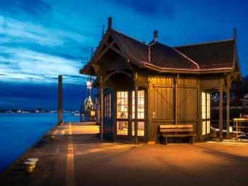 Blue Hour Museum Port Hamburg