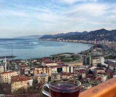 RİZE Kalesinde Çay Keyfi