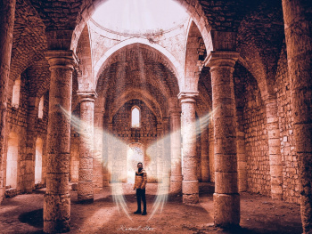 Historic church Angel