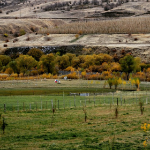 Köy ve sonbahar