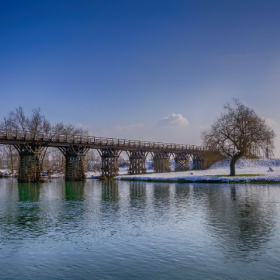 Bridge on the river Korana