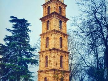 Bursa - Tophane Saat Kulesi