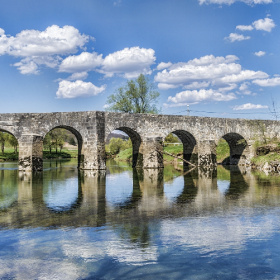 Bridge in Novigrad na Dobri