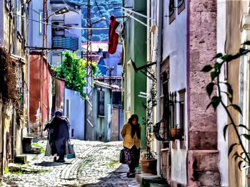 Antakya da bir sokak