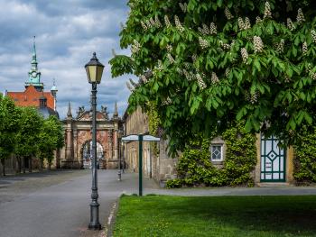 Bückeburg Castle with Dragon Gate