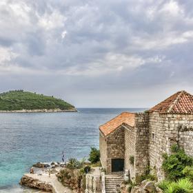 Before the rain, Dubrovnik