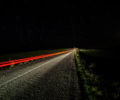 ışıklı yol...
