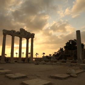 APOLLON TAPINAĞI - TEMPLE OF APOLLO / SİDE
