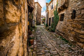 a stone street