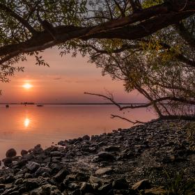 Sunset Lake Steinhude