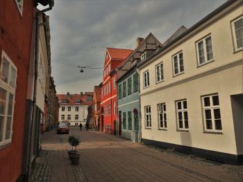 Street in Helsingør - Denmark